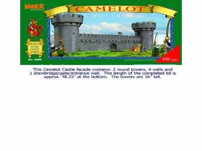 Camelot Castle Facade 1/32 Imex