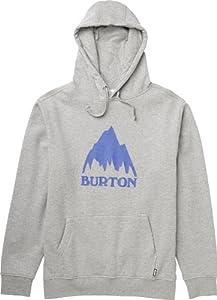 Burton Herren Pullover Mountain Logo, Heather Grey, 48/50, 11167100076