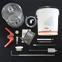 Advanced Home Brewing Equipment Kit With 6g Plastic Carboy