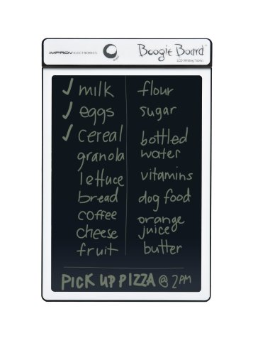 Boogie Board 8.5-Inch Lcd Writing Tablet, White (Pt01085Whta0002)