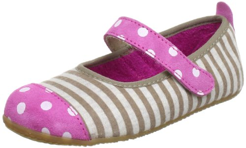 Living Kitzbühel Ballerina Punkte & Streifen Ballet Flats Girls Beige Beige (taupe 211) Size: 23