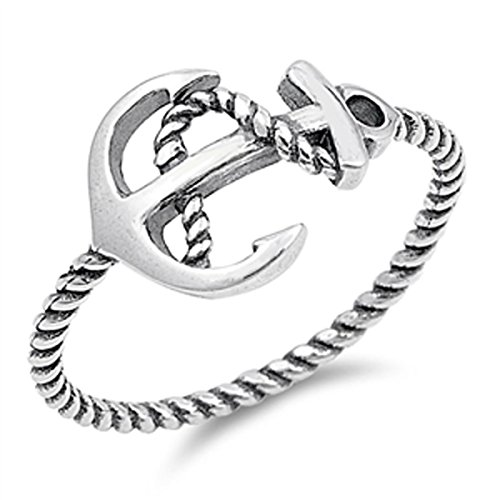 sterling-silver-womens-rope-anchor-ring-sizes-4-10-ring-size-8