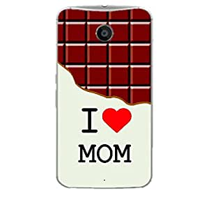 Skin4gadgets I love Mom - Chocolate Pattern Phone Skin for NEXUS 6