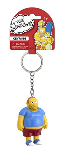 Fox The Simpsons Comic Book Guy 3D PVC Key Ring