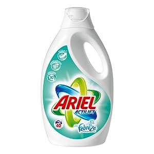 Ariel - Lessive Liquide avec Effet Febreze - 40 Doses