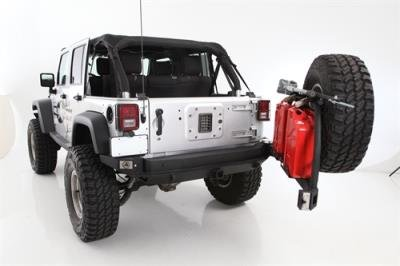 Smittybilt 76896-02 XRC Tire Carrier (Jerry Can Mounting Bracket compare prices)