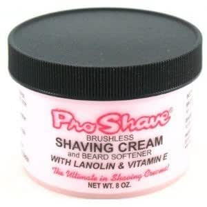 Pro Shave Shaving Cream 8 oz. (Pack of 3) with Clubman Nick Safe 7g!!!