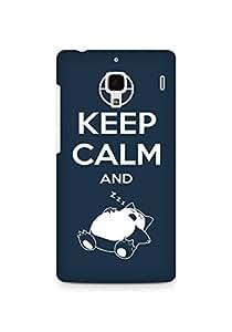Amez designer printed 3d premium high quality back case cover for Xiaomi Redmi 1S (Keep Calm)