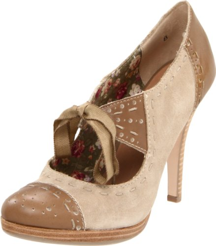 Seychelles Women's Undercover Mary Jane Pump,Taupe,9 M US
