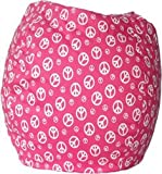 Bean Bag Peace Pink