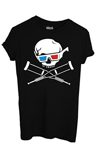 T-SHIRT JACKASS 3D-FILM by MUSH Dress Your Style - Donna-M-NERA