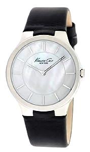 Kenneth Cole - KC2706 - Montre Femme - Quartz Analogique - Aiguilles Lumineuses - Bracelet Cuir Noir