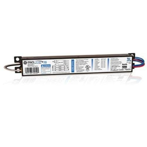 Ge Lighting 74459 Ge332Mv-L 120/277-Volt Multi-Volt Proline Electronic Fluorescent T8 Instant Start Ballast 3 Or 2 F32T8 Lamps