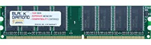 1GB Memory RAM for Acer Veriton 3600G Series, 3600GT Series, 5600G Series, 5600GT Series, 7600G Series 184pin PC3200 400MHz DDR DIMM Black Diamond Memory Module Upgrade