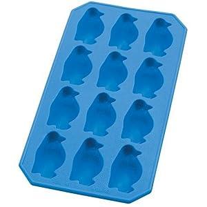 Lekue Silicone Ice Cube Tray, Penguin