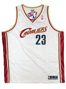 Lebron James NBA Cleveland Cavaliers #23 White Basketball Jersey (medium) by Reebok