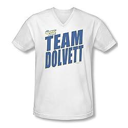 The Biggest Loser Team Dolvett Slim Fit V-Neck T-Shirt