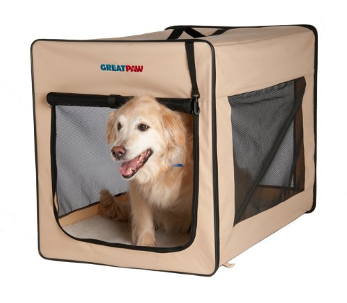 """Chateau Soft Dog Crate Size: Small (25"""" L X 18"""" W X 21"""" H) front-482664"""