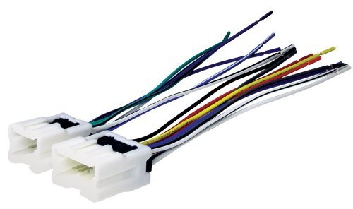 Scosche Radio Wiring Harness for 1995-Up Nissan Car Stereo Connector