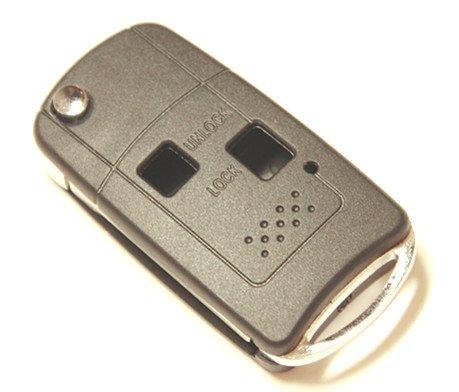 Folding Remote Key Shell Case For Toyota Land Cruiser Camry Corolla Rav4 Prado Avensis Echo Avalon Kluger