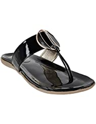 Touch Walk Women's Black PATENT Slip On - B01I16N7P4
