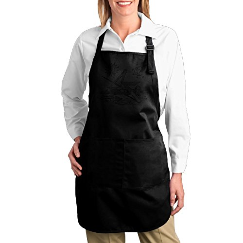 worldwide-fraternal-freemason-black-clipart-cotton-canvas-kitchen-apron-with-pocket-for-gardening-co