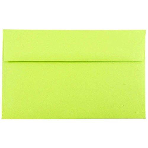 jam-paper-a10-invitation-envelope-6-x-9-1-2-brite-hue-ultra-lime-green-50-pack