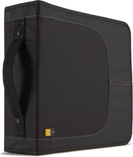 Case Logic Nylon CDW208-Disc Wallet (Holds 224CD/DVD)