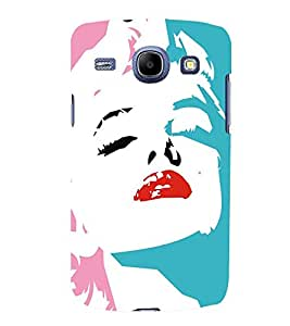 PRINTSWAG BEAUTIFUL GIRL Designer Back Cover Case for SAMSUNG GALAXY CORE I8262