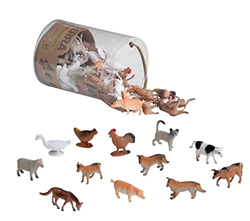 Battat-Terra-Farm-Animals-In-Tube-Action-Figure-Set
