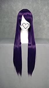 "31.5"" 80cm Straight Cosplay Costume Wig -- Purple Fujisaki Nagihiko"