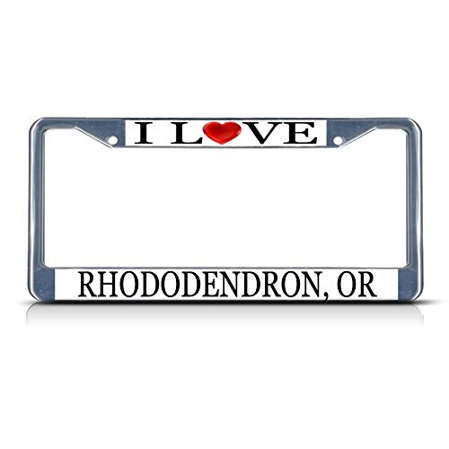 license-plate-frame-i-love-heart-rhododendron-or-aluminum-metal-license-plate-frame