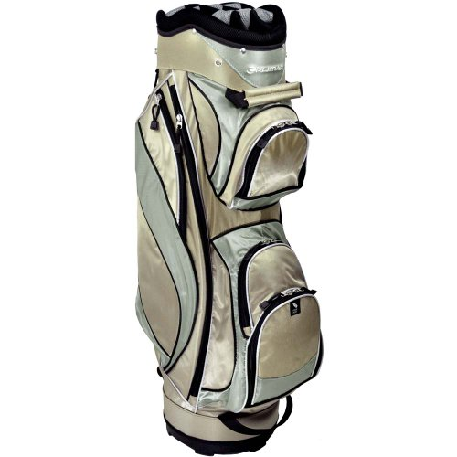 Orlimar Ladies Diamond Series Golf Cart Bag (Taupe/Sea