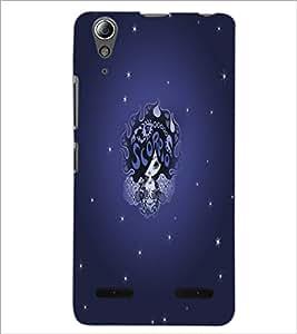 PrintDhaba Zodiac Scorpio D-5506 Back Case Cover for LENOVO A6000 PLUS (Multi-Coloured)
