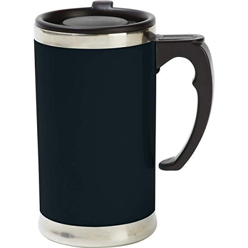 Wyndham House 21oz Stainless Steel Lined, Double-Wall Travel French Press Coffee/Tea Mug (French Coffee Press Travel Mug compare prices)