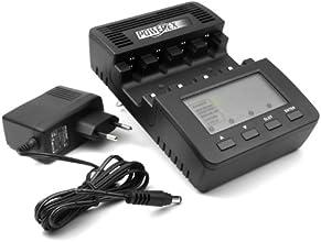 Powerex MH-C9000 - Comprobador de carga de baterías para pilas AA y AAA