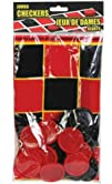 25 Piece Plastic Jumbo Checkers Game Set