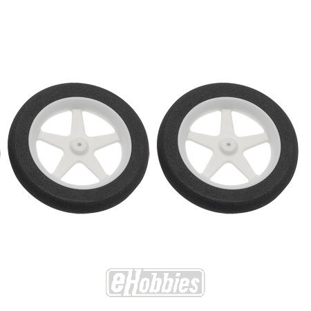 "Du-Bro 300MS 3"" Micro Sport Wheel (2-Pack) - 1"