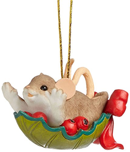 Enesco Charming Tails Gift Ornamental-Day Ride Ornament, 1.5-Inch