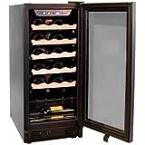 Haier 26 Bottle Built-In or Freestanding Wine Cellar Black