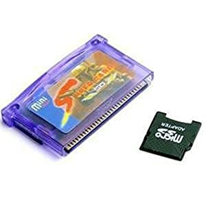 NowAdvisor® Mini SD to Super Card Adapter for GBA SP NDSL NDSXL + TF to Mini SD Card Adapter