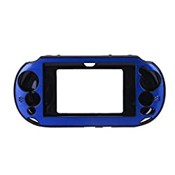 Imported Aluminum Protective Hard Case Cover for Sony VITA2000 PS VITA2000 -Navy Blue