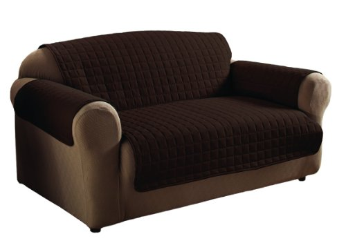 Innovative Textile Microfiber Sofa Furniture Protector, Chocolate