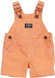 OshKosh B\'gosh Shortall - Orange-6M