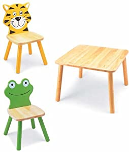 Pintoy 2 Friends Table and Chair Set       Customer reviews and more information