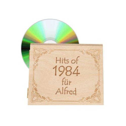 Musik 1984 - Jahrgangsmusik-CD 1984 mit Personalisierung
