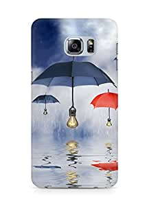 Amez designer printed 3d premium high quality back case cover for Samsung Galaxy S6 Edge Plus (Art Reflection)
