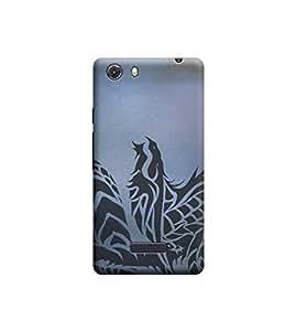 EPICCASE Premium Printed Back Case Cover With Full protection For Micromax Unite 3 Q372 (Designer Case)