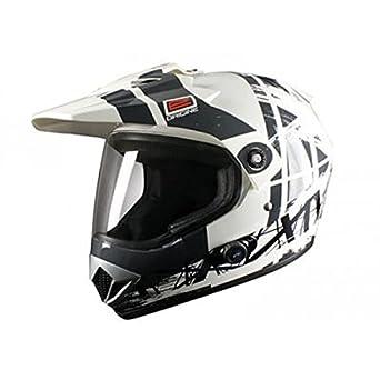 OR007074 - Casque Origine Gladiator Dakar Bluetooth Blanc/Blanc M