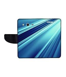 KolorEdge Printed Flip Cover For Samsung Galaxy Core 2 Multicolor - (45KeMlogo09593SamCore2)